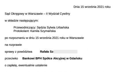 Wygraliśmy sprawę przeciwko BPH (dawny GE Money Bank). Sąd stwierdził nieważność umowy kredytowej!
